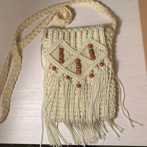 Hand woven crossbody bag Made in Bulgaria